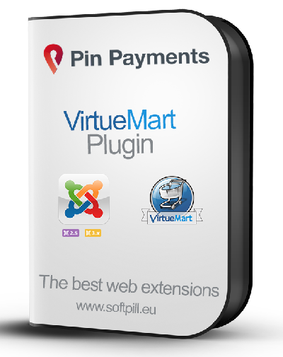 View Pin Payments for VirtueMart details